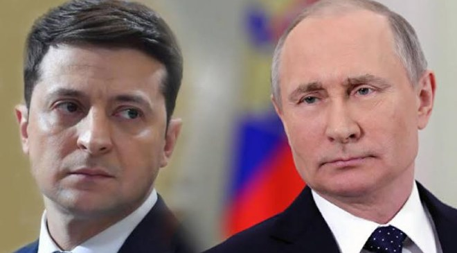 All out-war with Russia is possible - Ukraine's president Zelensky