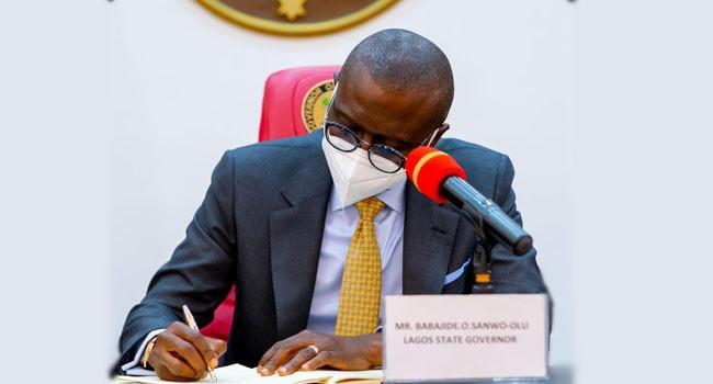 Governor Sanwo-Olu signs VAT bill into law