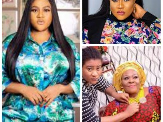 Nkechi Blessing Sunday mourns Mother