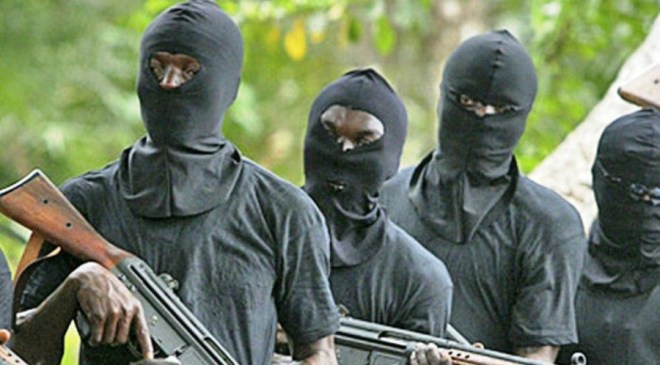 Three Delta police officers shot dead by hoodlums and set on fire inside police van