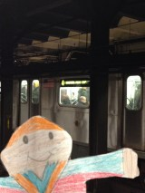 There goes a 4 Train!