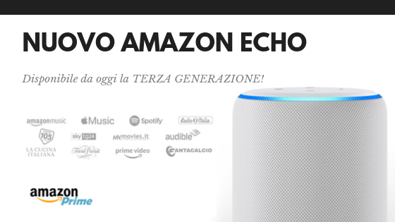 Nuovo Amazon Echo