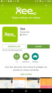 Xee PlayStore