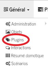 Général - Plugins