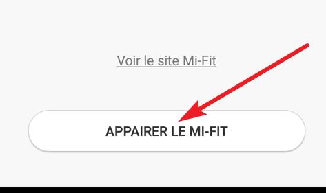Appairer Le Mi-Fit