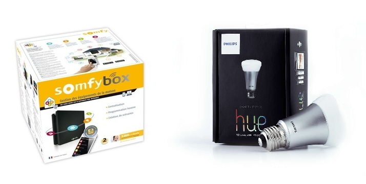 Philips Sur SomfyBox