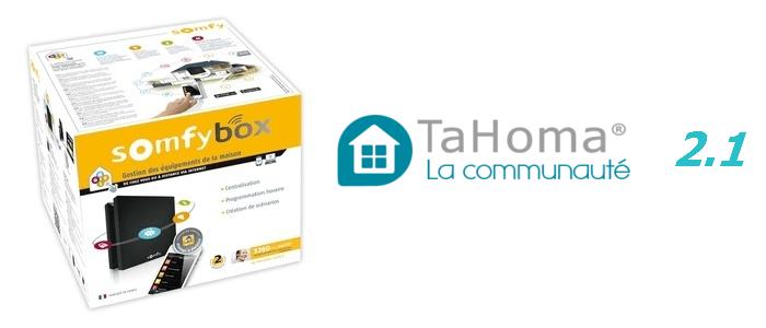 Somfy Tahoma 2.1