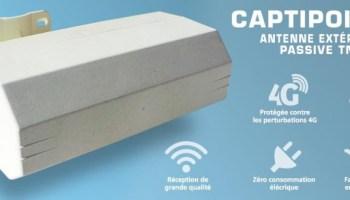 Captipro Nouvelle Antenne Passive Tnt Dantengrin