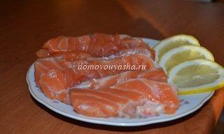 Как солить красную рыбу рецепт с фотографиями Народные