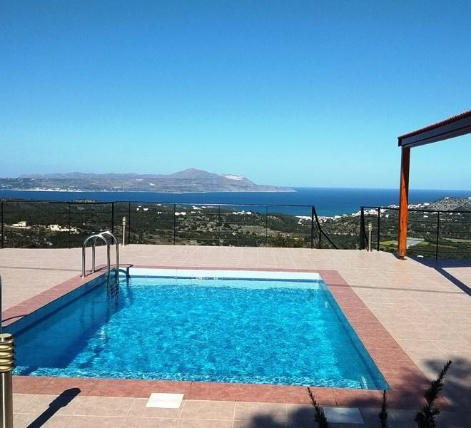 Dům s bazénem a výhledem na moře