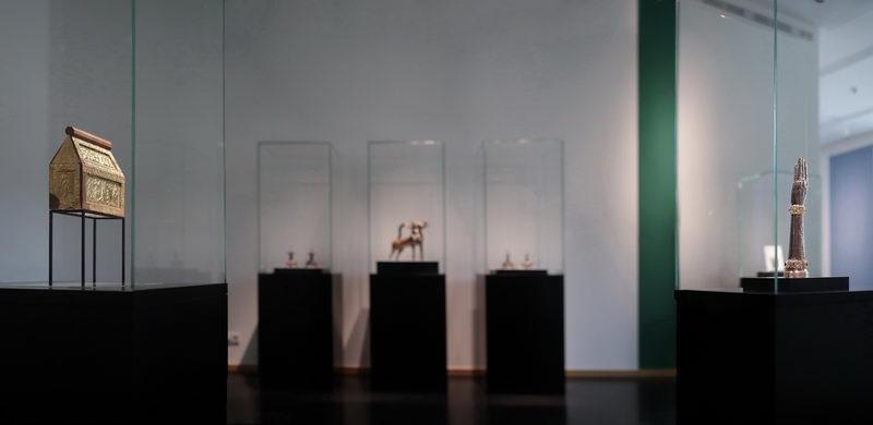 Der Domschatz Minden gilt als eine der bedeutendsten Sammlungen christlicher Kunstschätze aus elf Jahrhunderten in Deutschland. Foto: DVM/Lehn
