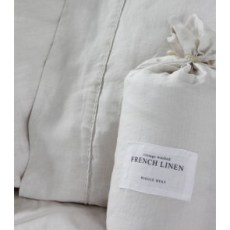Linen duvet cover & pillowcases