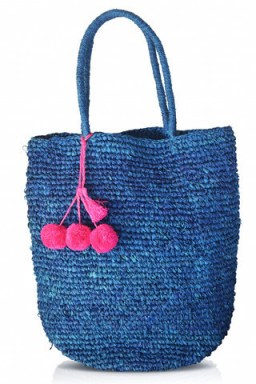 Raffia Beach Bag