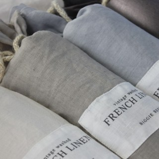 Washed French Duvet Cover & Pillows