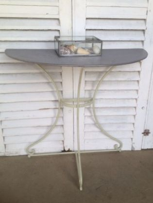 Zinc Top Tables