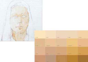 Come ottenere un colore del corpo dalle vernici - mescolare a destra