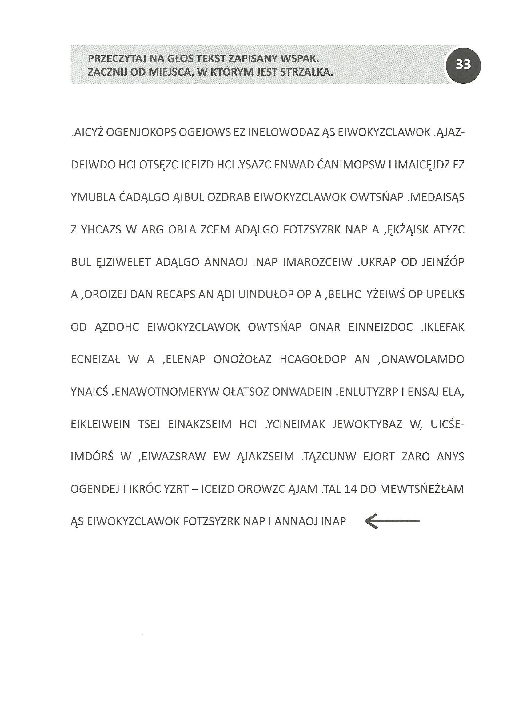 Cwiczenia Funkcji Poznawczych Cz 3 028 Dzienny Dom