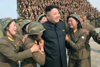 Шива через Кима Майклса. Конференция в Южной Корее, Сеул, 2 июля 2016 Kim-jong-un-women