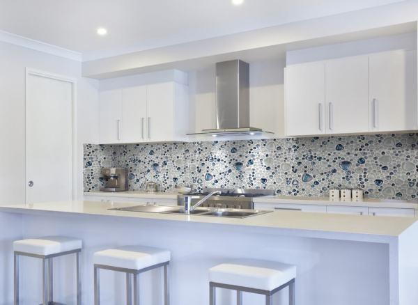 Скинали: фото в интерьере - более 100 фото кухонных ...