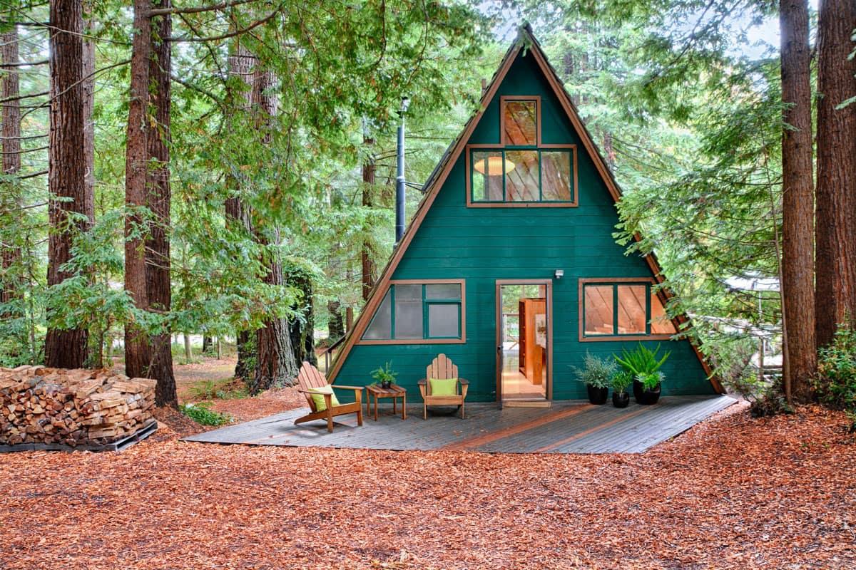 En la casa actual siempre te sentirás solo con la naturaleza.
