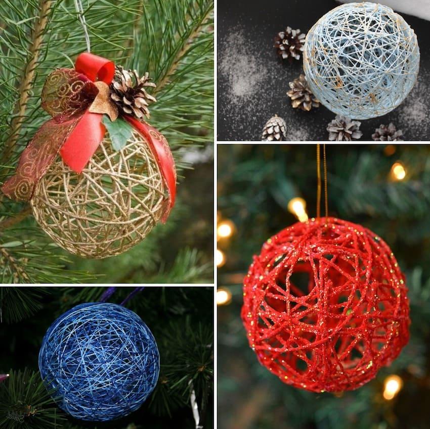 Bola yang diperbuat daripada benang - hadiah bajet yang hebat untuk tahun baru untuk rakan-rakan dan orang tersayang