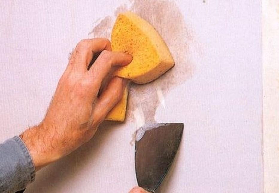 Αφαίρεση σαπουνιού ταπετσαρίας