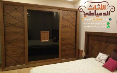 غرف نوم مودرن 2020 كاملة بأسعارها من دمياط