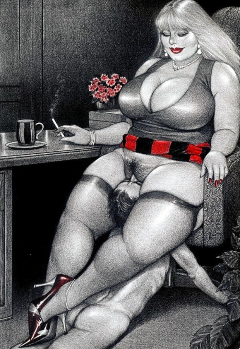 Art femdom facesitting