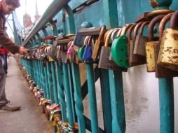 Locks on Tumski Most