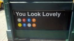 Fake Subway Signs