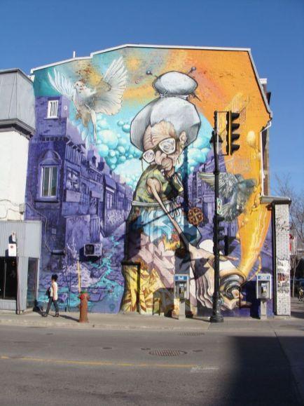 Montreal Murals