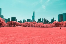 Infrared NYC, by Paolo Pettigiani