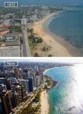 Fortaleza, Brazil - 1975 And Now
