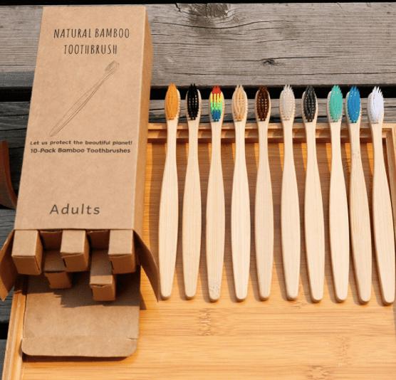 На AliExpress можно заказать бамбуковые зубные щетки большими партиями