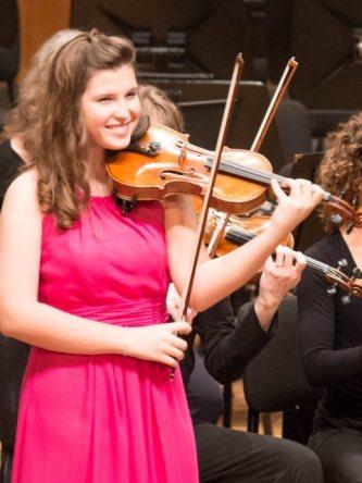 Joy Chatzistamatis, Violinist 2014
