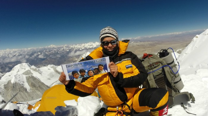 Sara Safari Challenges Us All: Climb Your Everest And Change Someone's Life