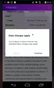 Data Charges