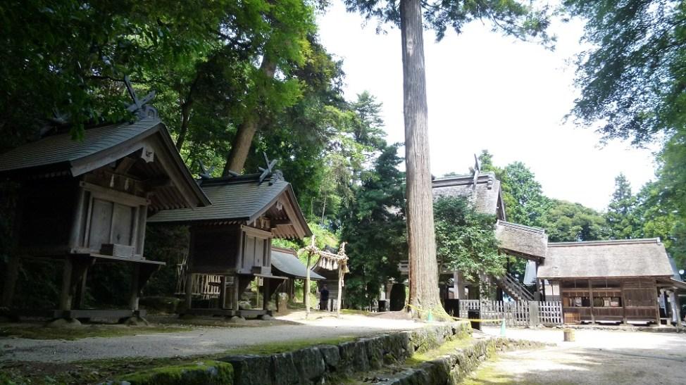 神魂神社の境内