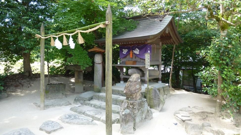 八重垣神社の末社、山神神社