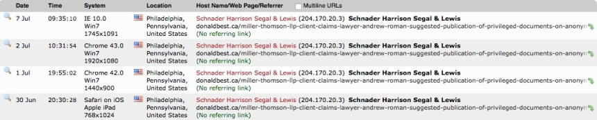 Schnader Harrison Segal & Lewis Lawyers-private