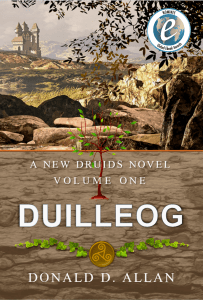 Duilleog cover with Global Ebook Award Nominee badge.