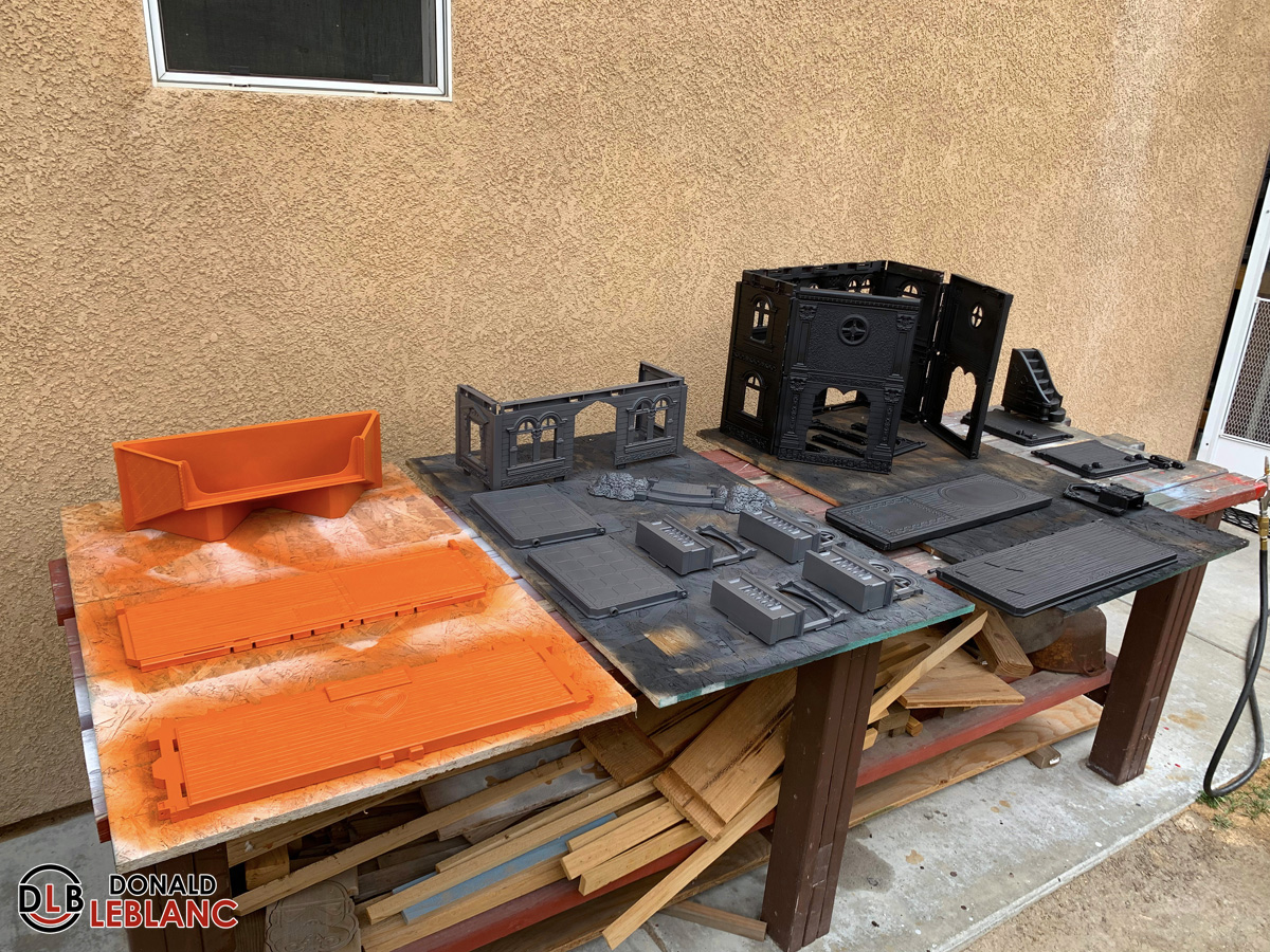 I'm building another spooky dollhouse – update #2
