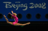 BEIJING- AUGUST 15: Nastia Liukin of USA competes in the Balance Beam, en route to winning the Women's All-Around Final at the Artist Gymnastics Competition during the Beijing Summer Olympic Games on August 15, 2008 in Beijing, China. (Photo by Donald Miralle)