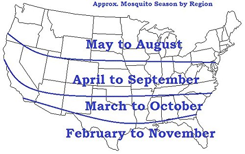 Mosquito Season Map