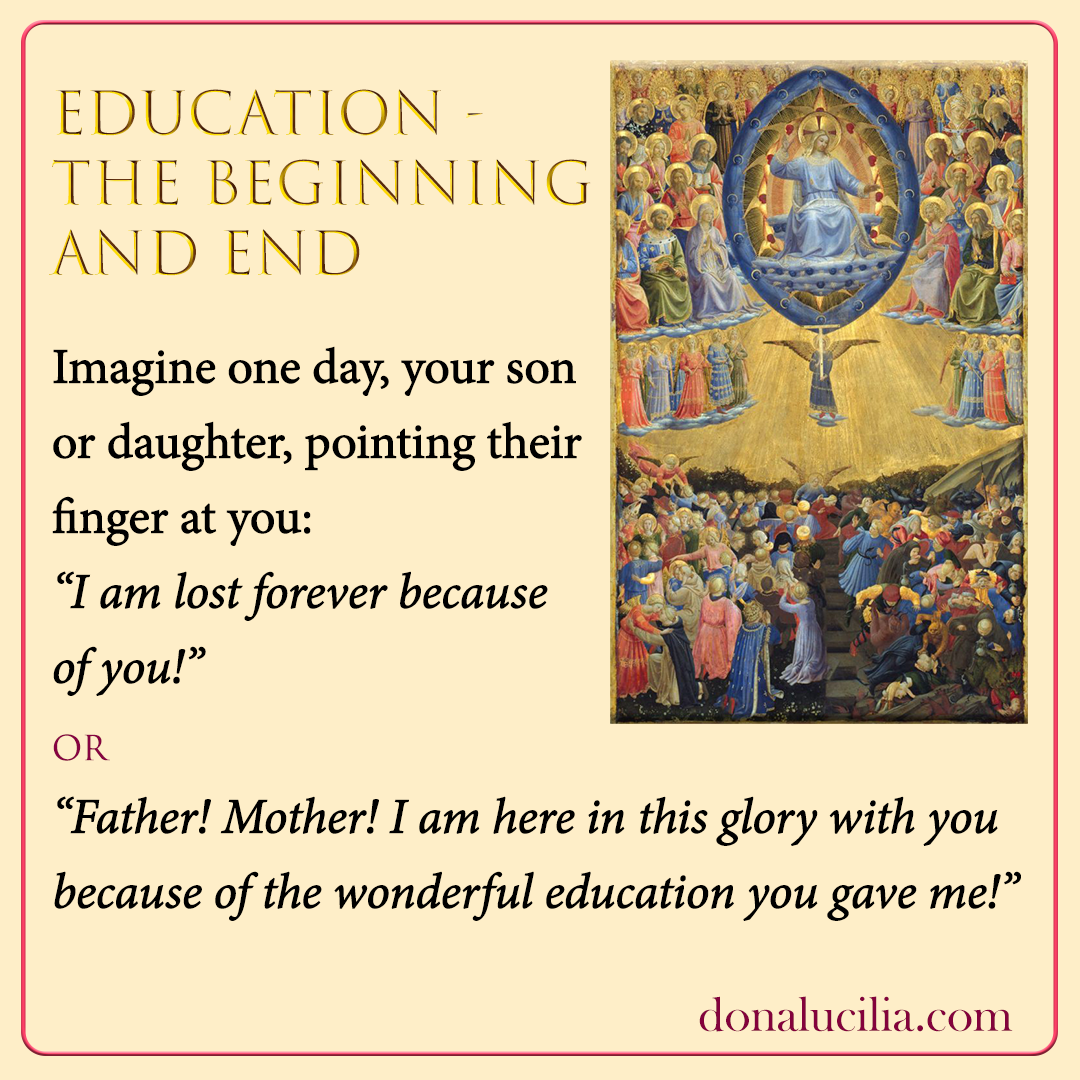 Education – The Beginning and End