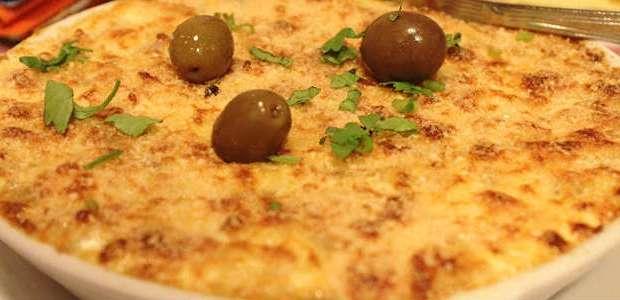 Bacalhau Português Tradicional com Batata e Gratinado