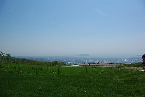 城岱牧場展望スペースからの眺め