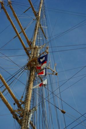 海王丸の信号旗