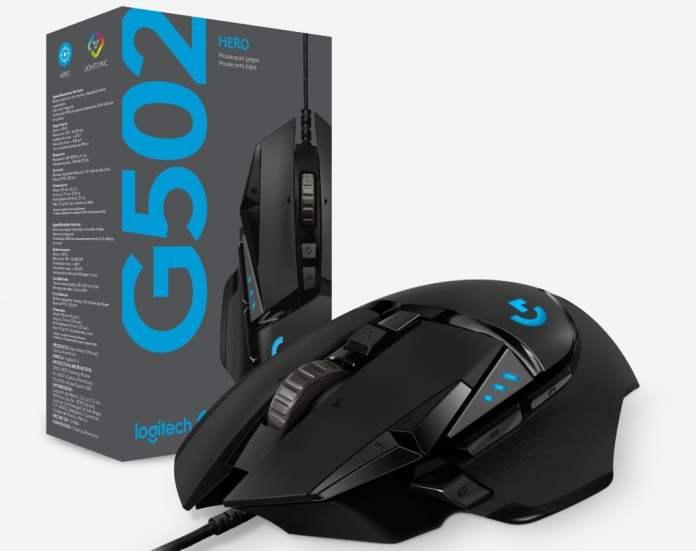 Logitech G502 Hero mouse ön inceleme - #IFA2018