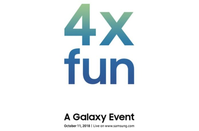 Samsung 11 Ekim 2018